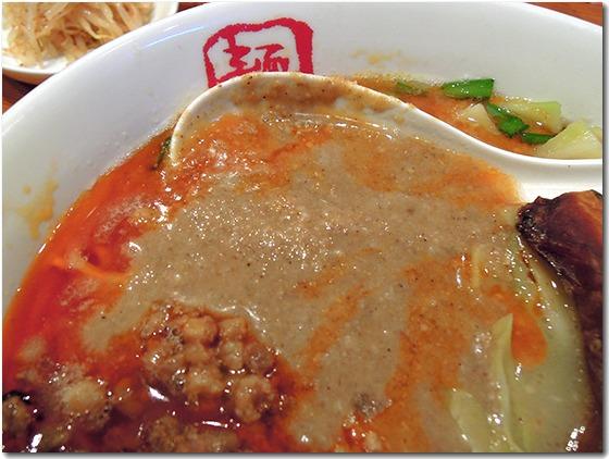 とんこつタンタン麺 芝麻醤