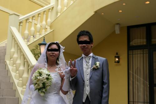うえこ結婚式1