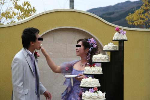 うえこ結婚式2