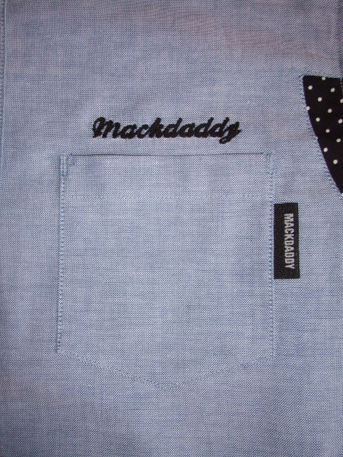 MDY  OX FORD SHIRTS BLUE PKT