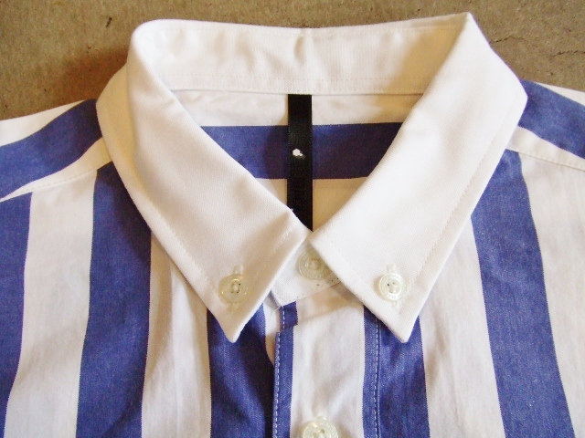 MDY STRIPE SHIRTS 襟