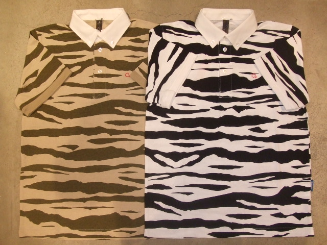 MDY ZEBRA POLO SHIRTS
