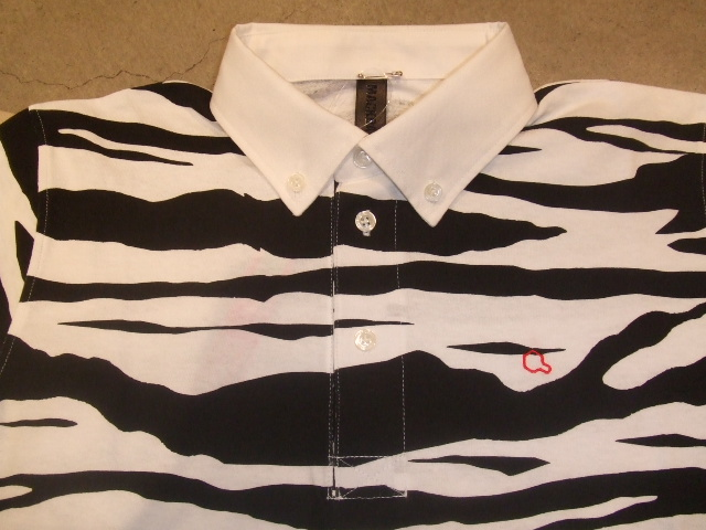 MDY ZEBRA POLO SHIRTS BLACK