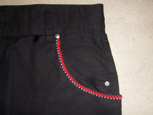 rehacer BEADS TAPERED PANTS  拡大