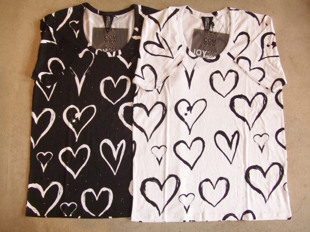 JOYRICH BRUSHED HEART TEE