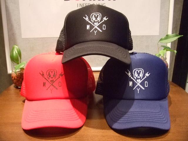 MDY SKULL MESH CAP