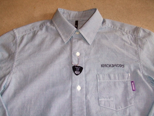 MDY DECENT CHAMBRAY SHIRTS FRONT