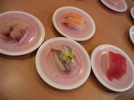 クリックで拡大 かっぱ寿司