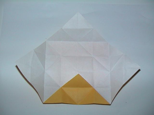 すべての折り紙 折り紙メダルの作り方 : ... 折り紙メダルの作り方~その2