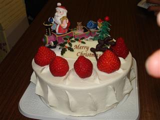 松本コーチ特製(?) ケーキ