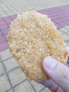 中嶋精肉店狭山台支店のコロッケ
