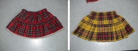 ハンドメイドスカート