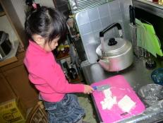 お料理お手伝い