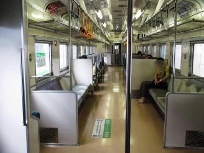 札幌行きキハ143系車内