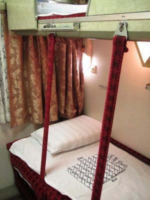A寝台2人用個室ツインデラックス下段