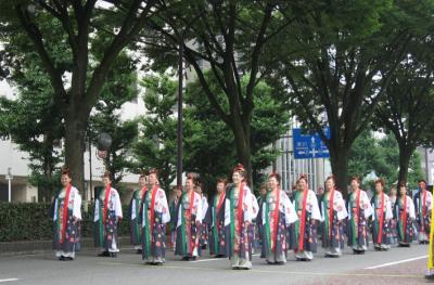 8月4日パレード