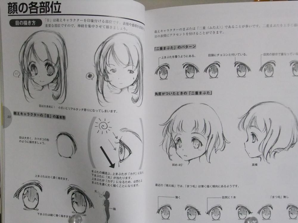 萌えキャラクターの描き方顔・体編_02