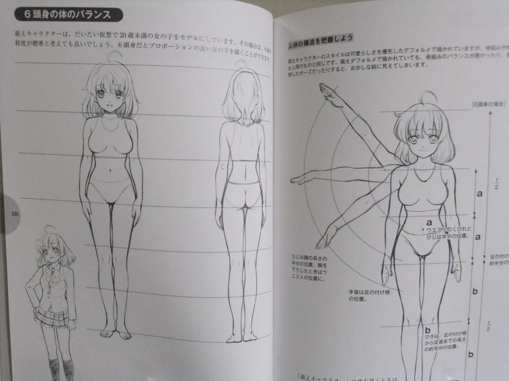萌えキャラクターの描き方顔・体編_04