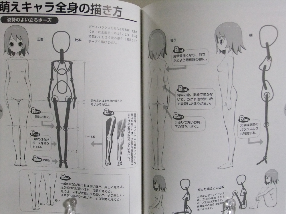 萌えキャラクターの描き方しぐさ感情表現編_06