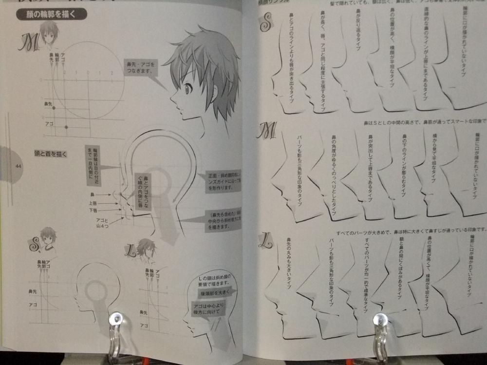 メンズ萌えキャラクターの描き方_顔・からだ編_05