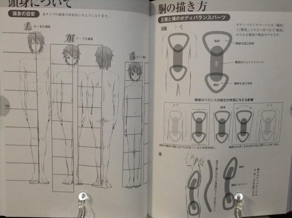 メンズ萌えキャラクターの描き方_顔・からだ編_07