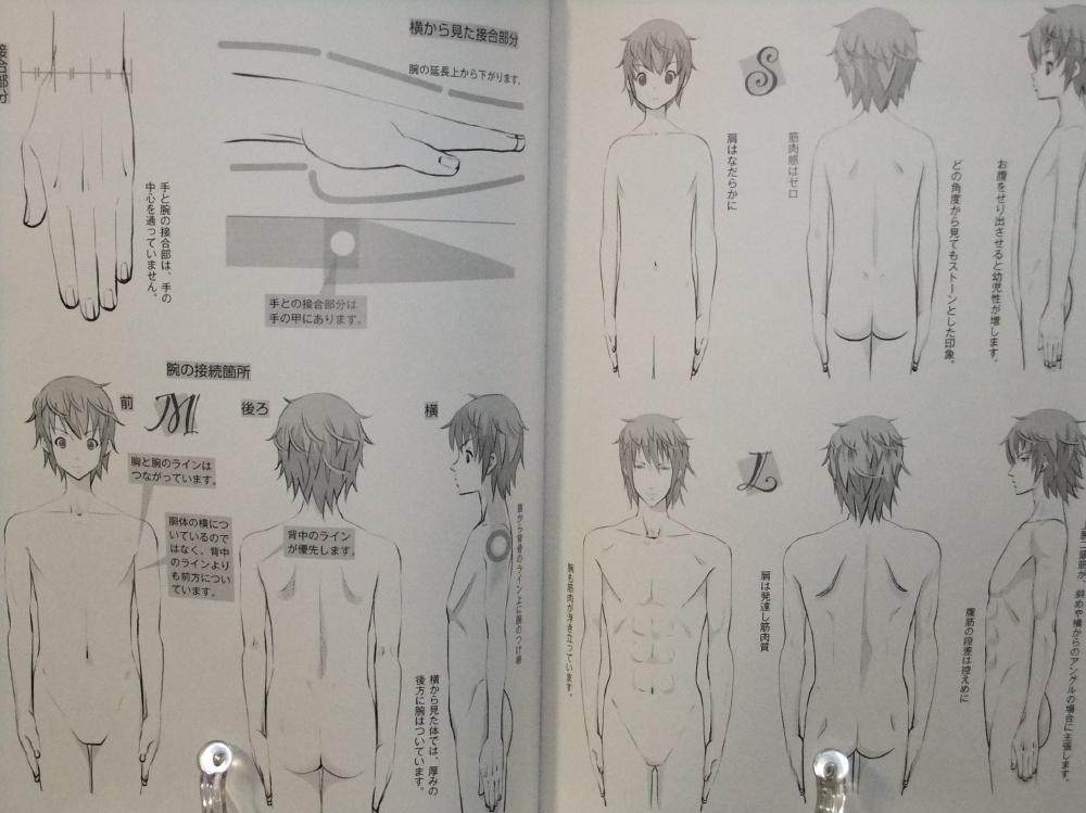 メンズ萌えキャラクターの描き方_顔・からだ編_10
