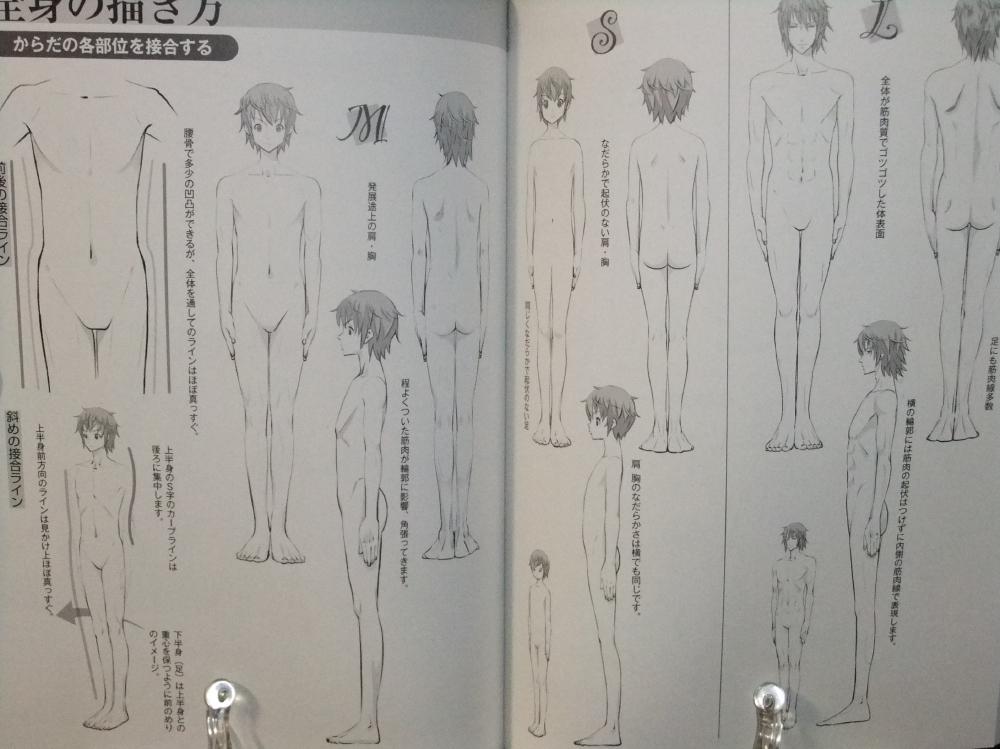 メンズ萌えキャラクターの描き方_顔・からだ編_11