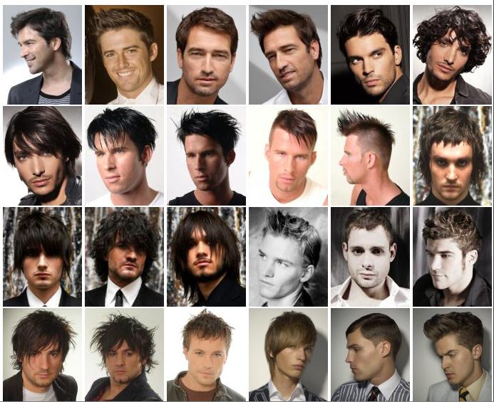 海外男性の髪型リスト