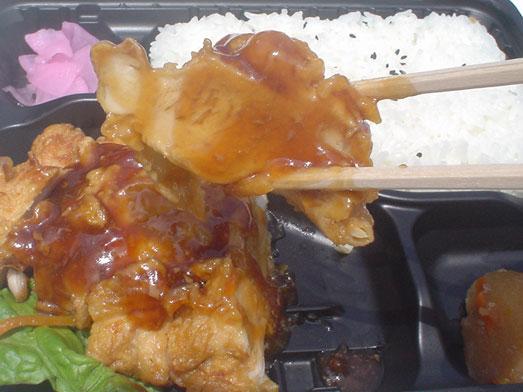 キッチンダイブ亀戸200円弁当のチキン南蛮弁当018