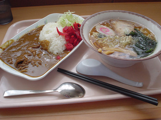 江戸川区役所食堂ラウンジおあしすでランチ017