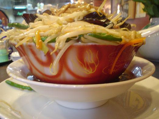 千葉鋸南町住吉飯店のもやしそば/モヤシ麺は超デカ盛り014
