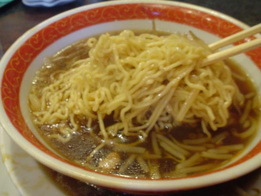 千葉鋸南町住吉飯店のもやしそば/モヤシ麺は超デカ盛り019