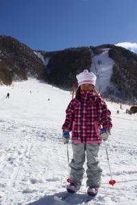まこちゃんはスキー