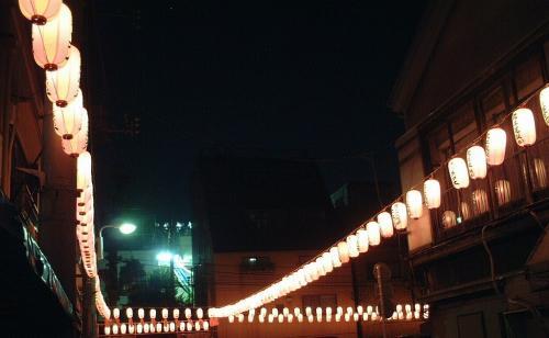 下谷神社の提灯