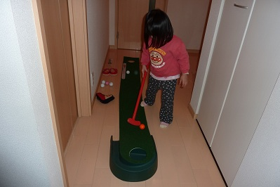 20110303ゴルフ&ひな祭り (7)