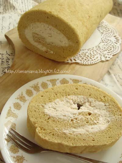 Roll Cake - Slice