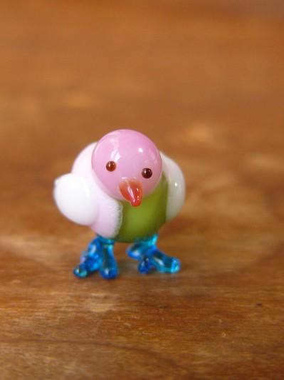 ガラス細工-鳥・その4-1