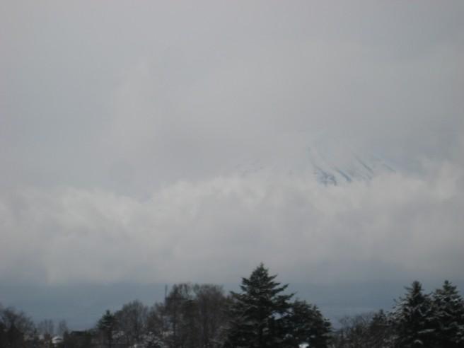 3月24日富士山