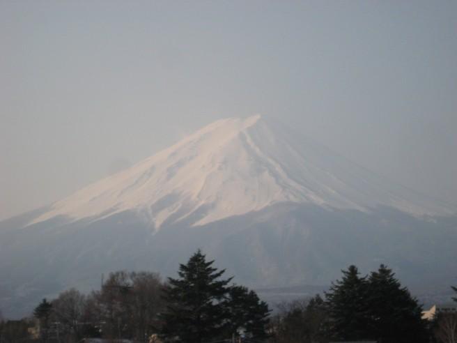 3月25日富士山