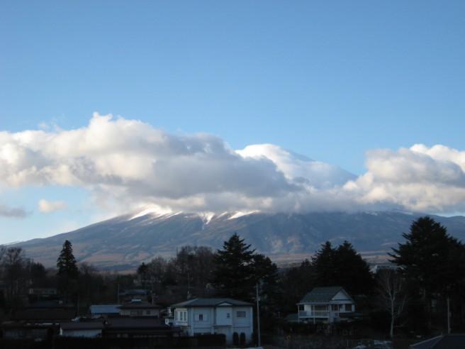 3月26日富士山