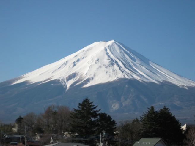 4月1日富士山