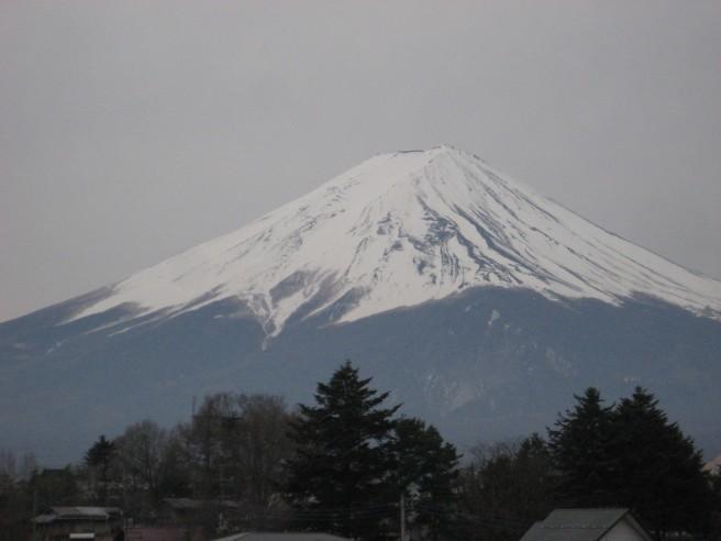 4月7日富士山