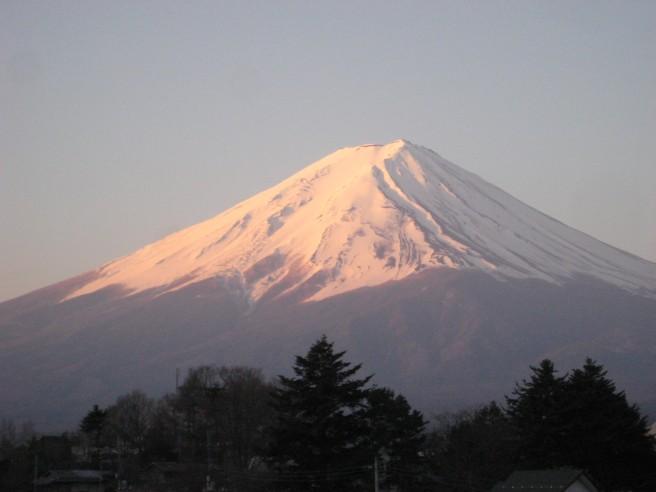 4月14日富士山