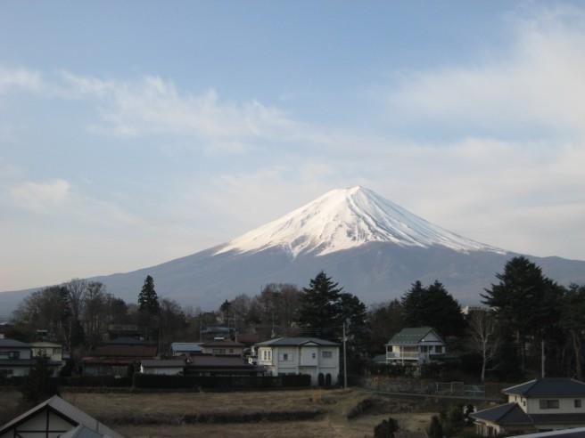 4月15日富士山