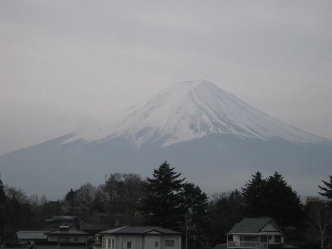 4月16日富士山