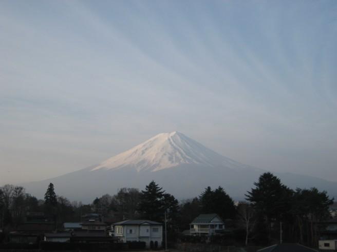 4月17日富士山