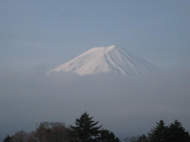 4月18日富士山