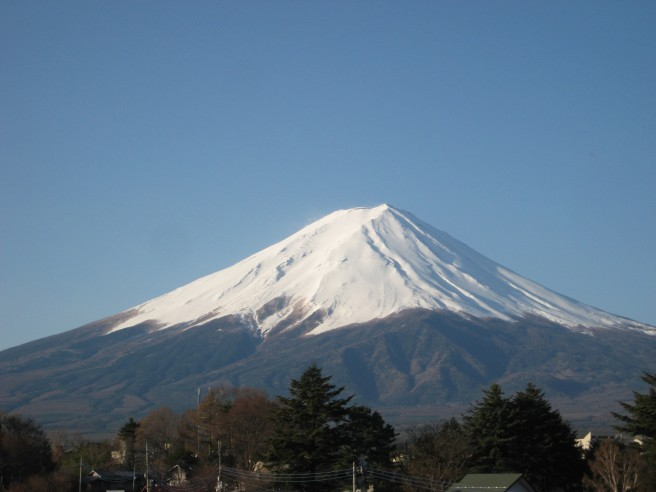 4月24日富士山