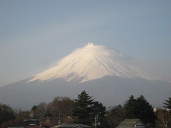 4月27日富士山