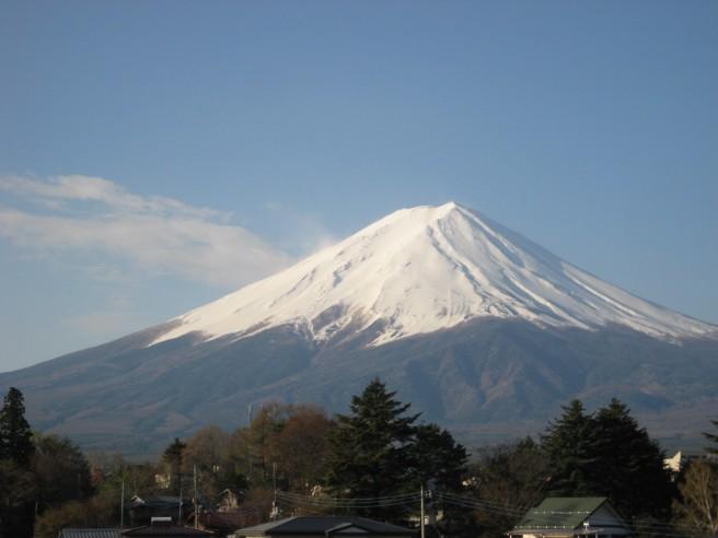 4月28日富士山